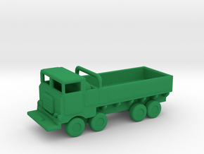 1/285 Scale M656 Truck in Green Strong & Flexible Polished