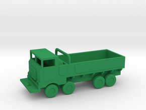 1/200 Scale M656 Truck in Green Strong & Flexible Polished