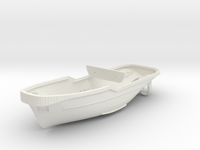 Harbor Tug Hull 1:144 V40 in White Strong & Flexible