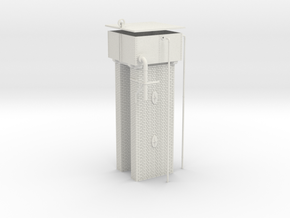 LM71 Water Tower in White Natural Versatile Plastic
