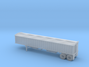 N-Scale (1/160) CPS/Manac 40' Grain Trailer W/Tarp in Smoothest Fine Detail Plastic