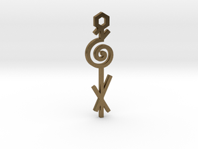 Spiral / Espiral in Natural Bronze