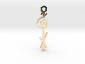Spiral / Espiral in 14K Yellow Gold