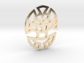 Cosmic Egg / Huevo Cósmico in 14K Gold