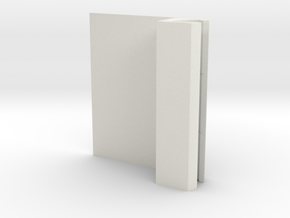 Apple Pencil Holder in White Natural Versatile Plastic