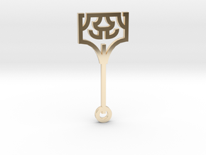 Hammer / Martillo in 14k Gold Plated Brass