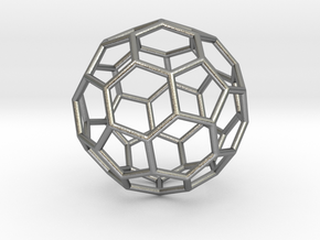 0624 Fullerene c60-ih - Model for the BFI (Bulk) in Natural Silver