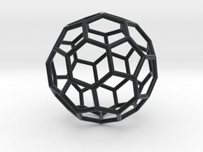 0624 Fullerene c60-ih - Model for the BFI (Bulk) in Black Hi-Def Acrylate