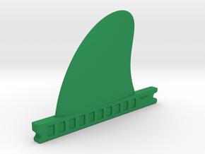 """TinyFins X 3,1"""" fu in Green Processed Versatile Plastic"""