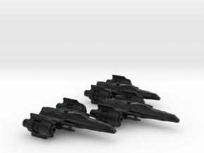 Corvan T-4/H Wing 1/270 in Black Hi-Def Acrylate