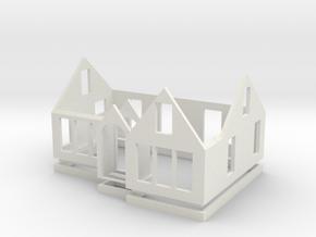 House 3L in White Natural Versatile Plastic