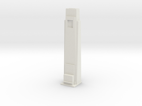 Comcast Building (1:2000) in White Natural Versatile Plastic