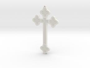 1:6 scale replica cross; Bram Stoker's Dracula in White Natural Versatile Plastic