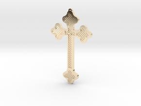 1:6 scale replica cross; Bram Stoker's Dracula in 14K Yellow Gold