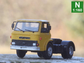 Ford D series (Late version) tractor truck N scale in Smoothest Fine Detail Plastic