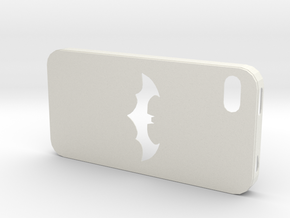 IPhone 4S Batman Case in White Strong & Flexible