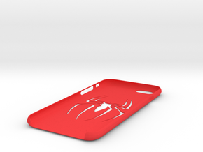 IPhone 6S Spider Case in Red Processed Versatile Plastic