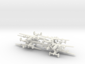 1/600 Consolidated B24 Liberator x8 in White Natural Versatile Plastic