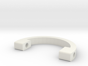 FGrip Ring in White Natural Versatile Plastic