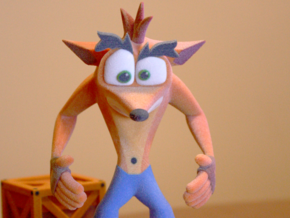 Crash Bandicoot (PSX era) in Full Color Sandstone: Medium