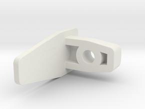 Ikea VIDGA 146963 in White Natural Versatile Plastic