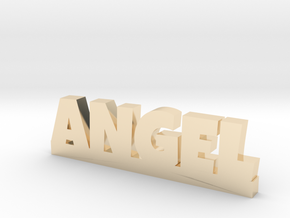 ANGEL Lucky in 14k Gold Plated Brass