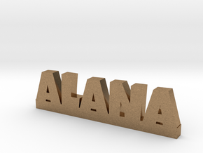 ALANA Lucky in Natural Brass
