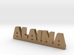 ALAINA Lucky in Natural Brass