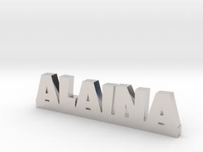 ALAINA Lucky in Rhodium Plated Brass