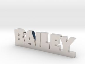 BAILEY Lucky in Rhodium Plated Brass