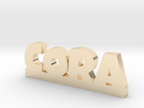CORA Lucky in 14k Gold Plated Brass