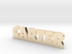 CARTER Lucky in 14k Gold Plated Brass