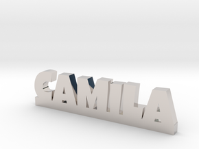 CAMILA Lucky in Rhodium Plated Brass