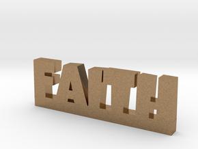 FAITH Lucky in Natural Brass