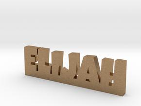 ELIJAH Lucky in Natural Brass