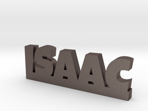 ISAAC Lucky in Polished Bronzed Silver Steel