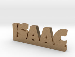 ISAAC Lucky in Natural Brass