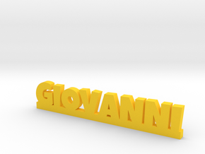 GIOVANNI Lucky in Yellow Processed Versatile Plastic
