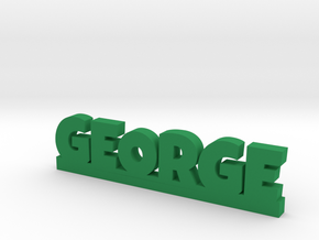 GEORGE Lucky in Green Strong & Flexible Polished