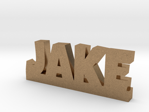 JAKE Lucky in Natural Brass