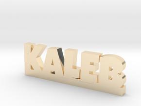KALEB Lucky in 14k Gold Plated Brass