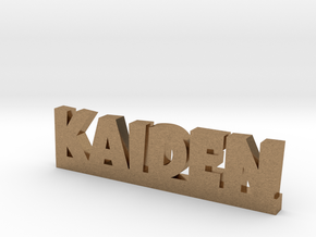 KAIDEN Lucky in Natural Brass