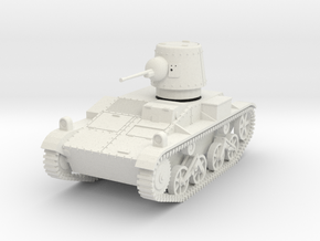 PV165A T15 Light Tank (28mm) in White Natural Versatile Plastic