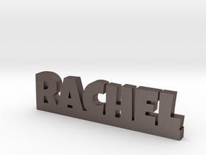RACHEL Lucky in Polished Bronzed Silver Steel