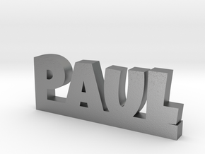 PAUL Lucky in Natural Silver