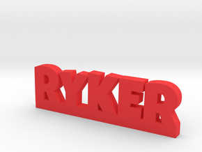RYKER Lucky in Red Processed Versatile Plastic