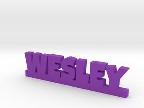 WESLEY Lucky in Purple Processed Versatile Plastic