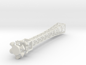 Lighttower in White Natural Versatile Plastic