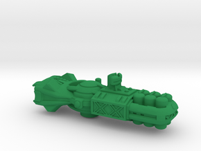 """Space Freighter """"Protector"""" (OEM Class) in Green Strong & Flexible Polished"""