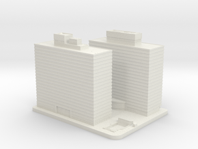 Two and Three Penn Center (1:2000) in White Natural Versatile Plastic